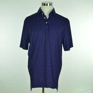 RLX GOLF Ralph Lauren Mens Polo Shirt Blue
